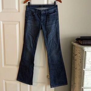 "Joe's 25 Actual 28.5"" Waist Jeans Excellent Used"